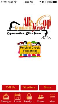 AlleyOop Gymnastics Center poster