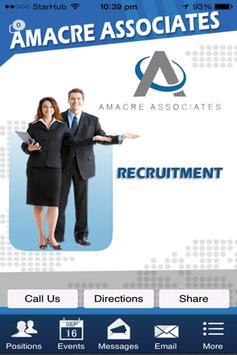 AMACRE Associates poster