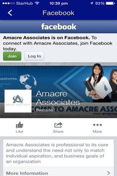 AMACRE Associates apk screenshot