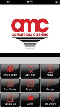 AMC Commercial Cleaning poster