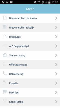 Amer Notarissen apk screenshot