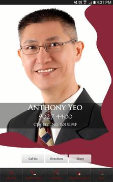 Anthony Yeo poster
