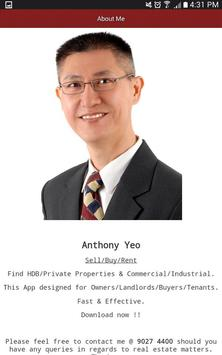 Anthony Yeo apk screenshot