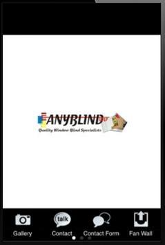 Any Blind Ltd poster