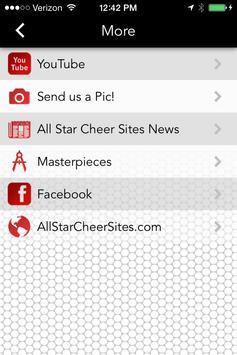 All Star Cheer Sites apk screenshot