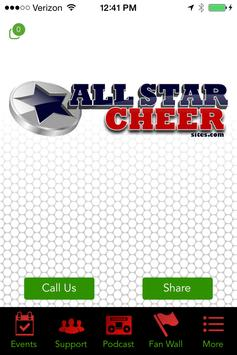 All Star Cheer Sites poster