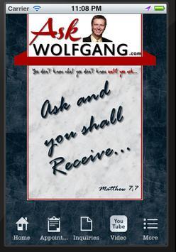 Ask Wolfgang poster