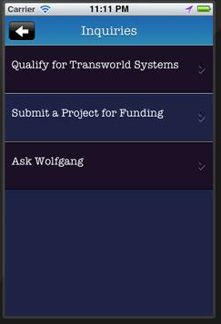 Ask Wolfgang apk screenshot