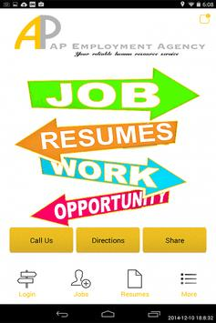 AP Employment poster