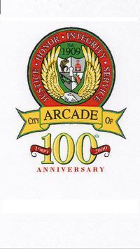 City of Arcade, Georgia poster