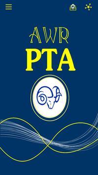 Allen W Roberts School AWR PTA poster