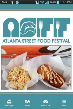 Atlanta Street Food Festival poster