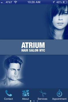 Atrium Hair Salon poster