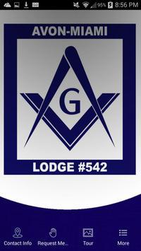 Avon-Miami Lodge No. 54 poster