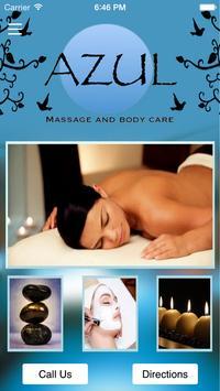 Azul Massage poster