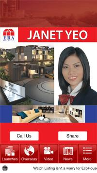 Janet Yeo Real Estate Agent apk screenshot