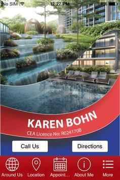 Karen Bohn Property Agent poster