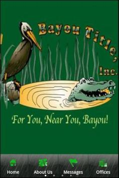 Bayou Title, Inc. poster