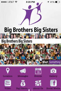 Big Brothers Big Sisters NEI poster