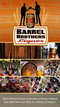 Barrel Brothers Liquors poster