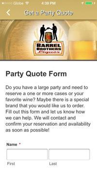 Barrel Brothers Liquors apk screenshot