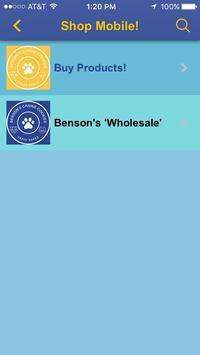 Benson's Canine Cookies apk screenshot