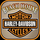 Beach House Harley-Davidson icon