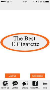 The Best E-cigarette poster