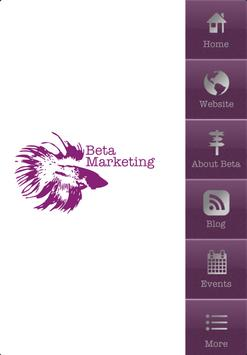 Beta Marketing poster