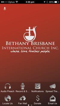 Bethany Brisbane poster