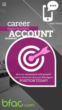 bfac Careers poster