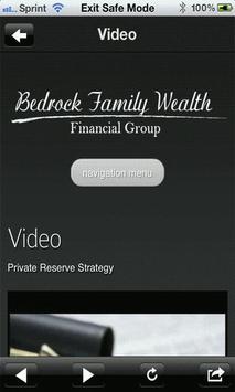 Bedrock Family Wealth apk screenshot