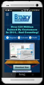 Binary Cash Creator poster
