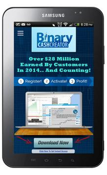 Binary Cash Creator apk screenshot
