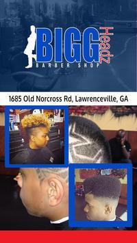 Bigg Headz Barbershop poster