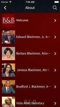 Blackmon & Blackmon, Attorney apk screenshot