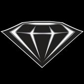 Black Diamond Harley-Davidson icon