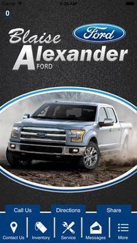 Blaise Alexander Ford, Inc. poster