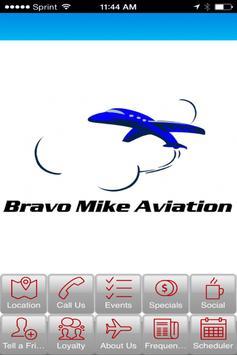Bravo Mike Aviation poster
