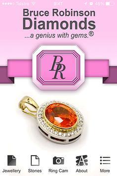 Bruce Robinson Diamonds poster