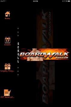 Boardwalk Bar - Ft Lauderdale poster