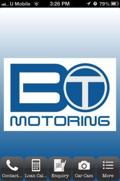 BT Motoring poster