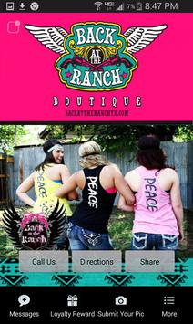 Back At The Ranch Boutique apk screenshot