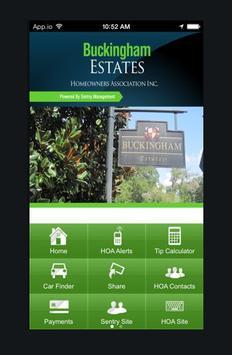 Buckingham Estates poster