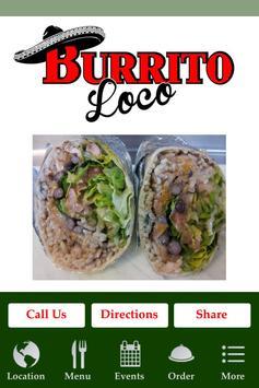 Burrito Loco On The Lake poster
