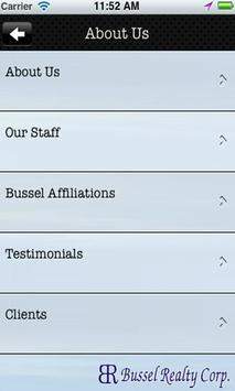 Bussel Realty Corp apk screenshot