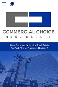 Commercial Choice Real Estate poster
