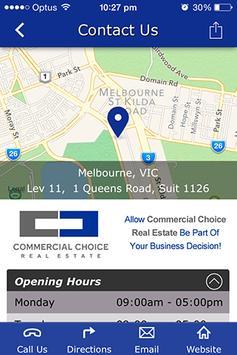 Commercial Choice Real Estate apk screenshot