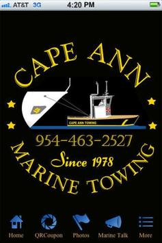 Cape Ann Marine Towing poster