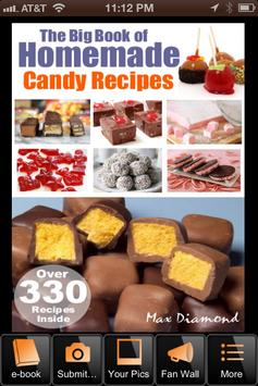 Homemade Candy Recipes poster